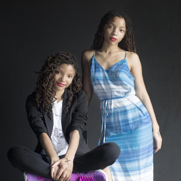 Chloe X Halle photographed at SXSW 2018