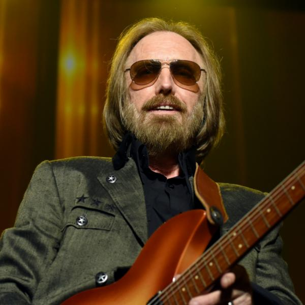 Tom Petty at the 2017 MusiCares Person of the Year gala