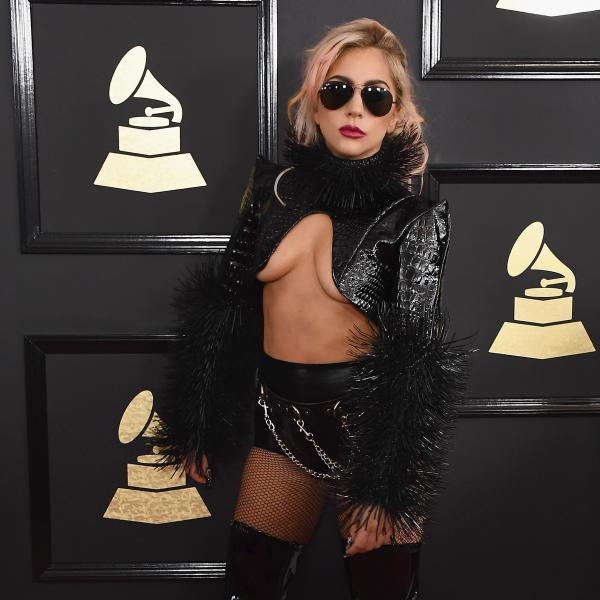 Lady Gaga at the 59th GRAMMYs in 2017