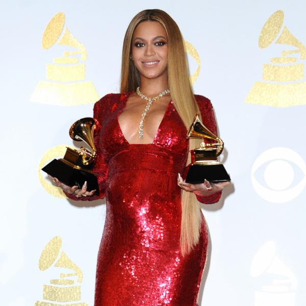 Beyoncé at the 59th GRAMMY Awards in 2017