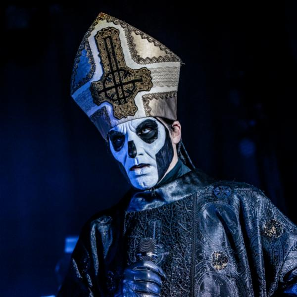 Ghost performs live in 2017