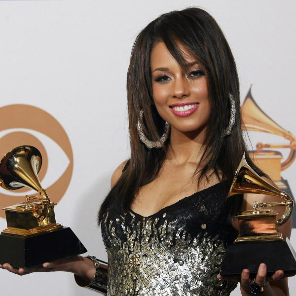 Alicia Keys at the 50th GRAMMYs, 2008