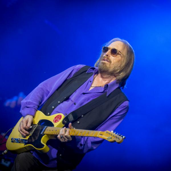 Tom Petty performs live in 2017