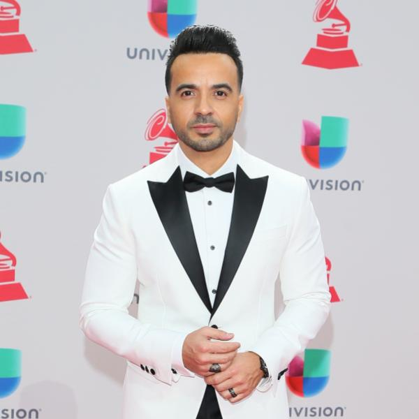 Luis Fonsi at the 18th Latin GRAMMY Awards in 2017