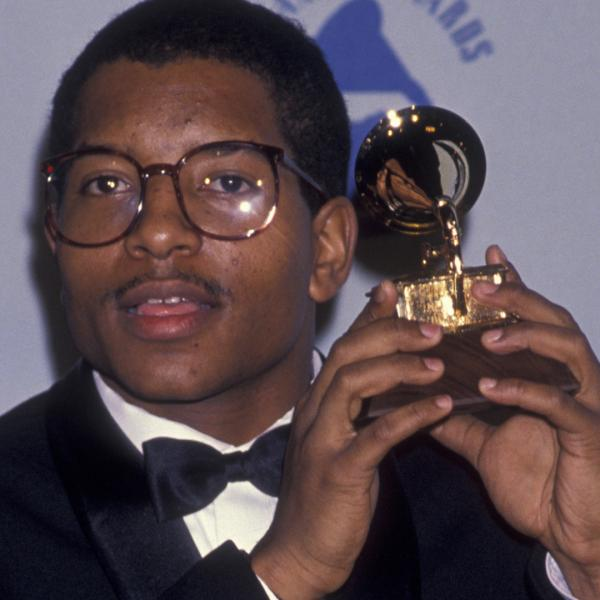 Photo of Young MC at the 32nd GRAMMY Awards in 1990