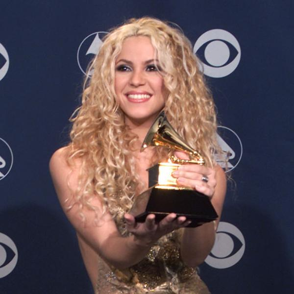 Shakira at 2001 GRAMMYs