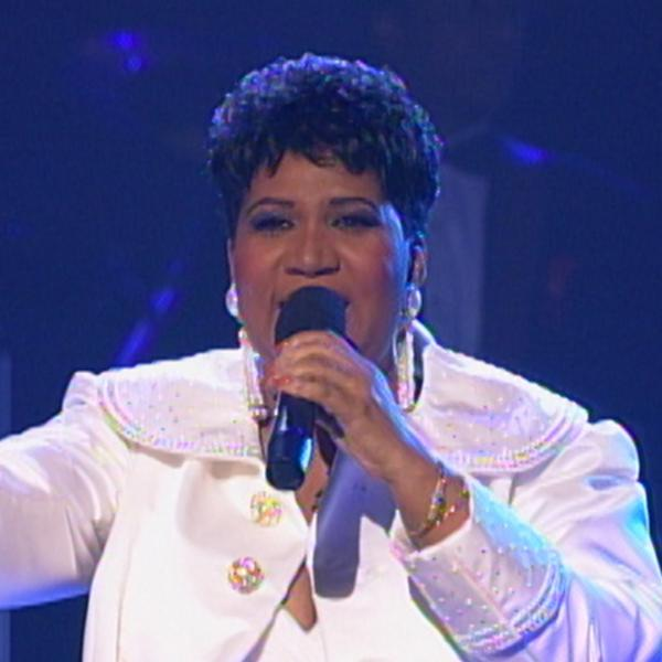 Aretha Franklin at the 36th GRAMMY Awards