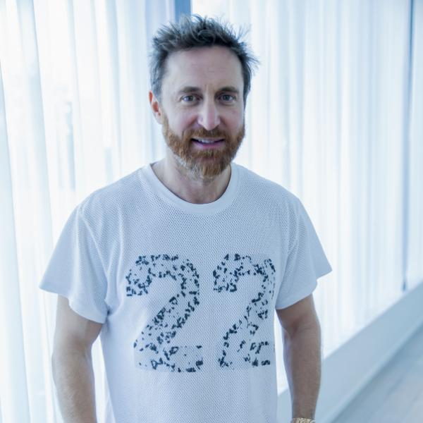 David Guetta photographed in 2018