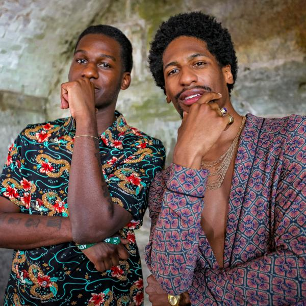 Leon Bridges and Jon Batiste