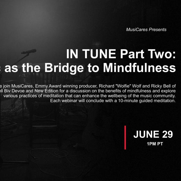 IN TUNE Part Two: Music as the Bridge to Mindfulness Graphic