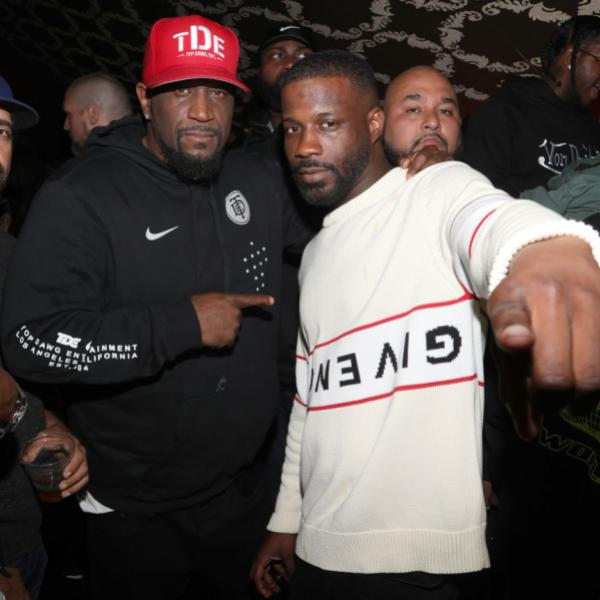 """Anthony """"Top Dawg"""" Tiffith & Jay Rock"""
