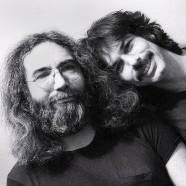 Jerry Garcia and Mickey Hart