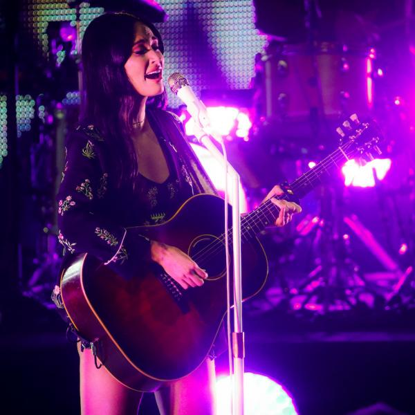 Kacey Musgraves performs live at the Greek Theatre on August 23, 2019 in Los Angeles, California