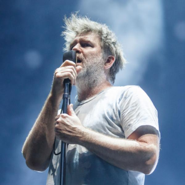 James Murphy of LCD Soundsystem performs at Sonar Festival 2018