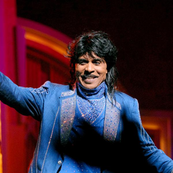 Little Richard performs at the Apollo Theatre in 2006