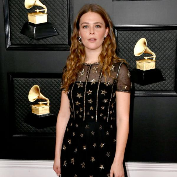 Maggie Rogers at the 2020 GRAMMYS