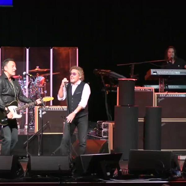 Bruce Springsteen Jams With The Who At MusiCares MAP Fund Benefit