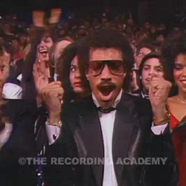 Lionel Richie wins Album Of The Year (1985)