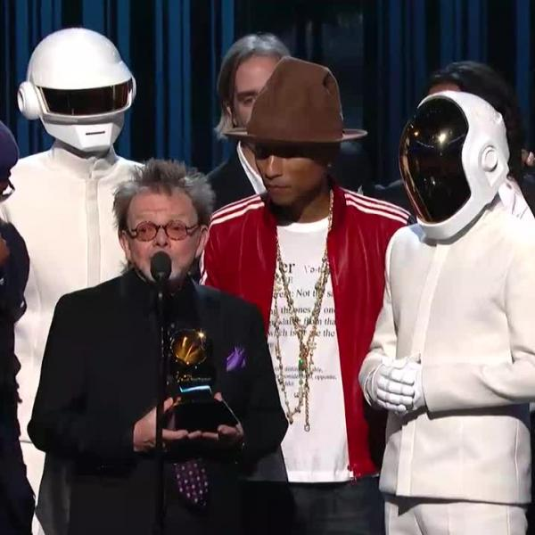 Daft Punk, Pharrell Williams win Album Of The Year
