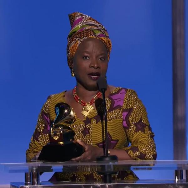 Angélique Kidjo wins 2016 Best World Music Album GRAMMY