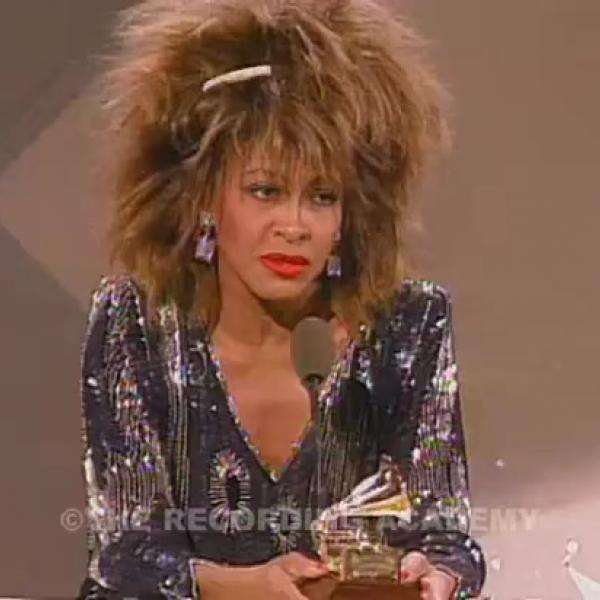 Tina Turner Wins Record Of The Year