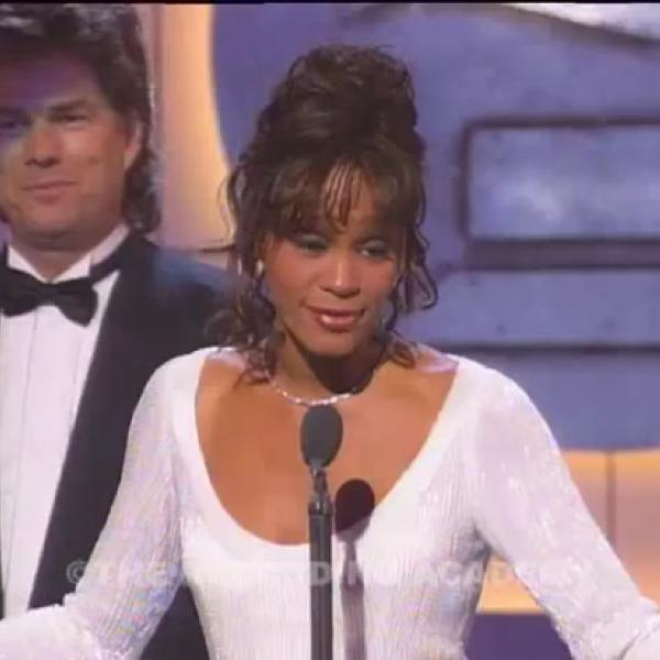 Whitney Houston Wins Record Of The Year