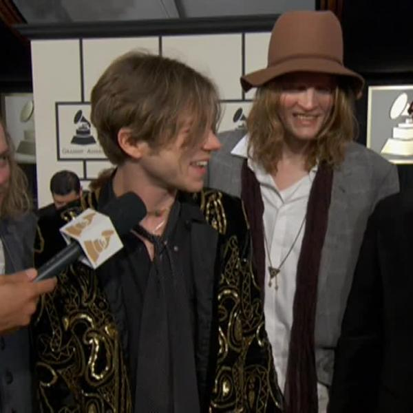 Cage The Elephant talk GRAMMY nomination at the 57th Awards