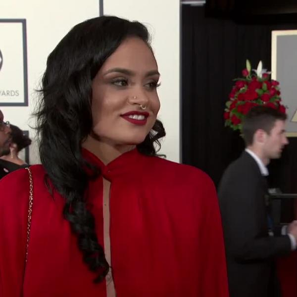 Kehlani remembers her first GRAMMY red carpet