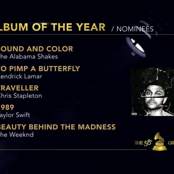 Album Of The Year: 58th GRAMMY Nominees