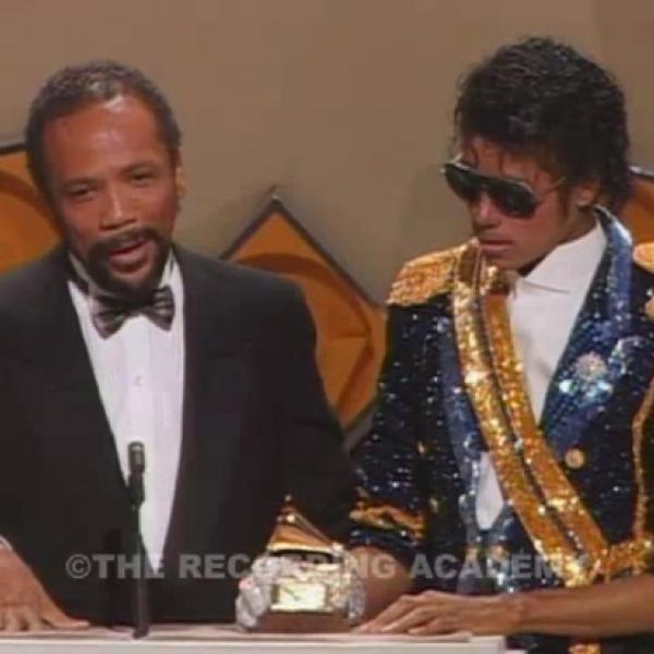 Michael Jackson Wins Album Of The Year