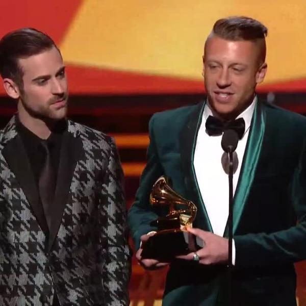 Macklemore & Ryan Lewis Win Best New Artist