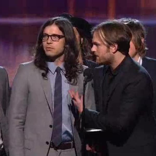 Kings Of Leon Win Record Of The Year