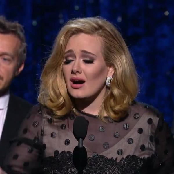 Adele wins Album Of The Year for '21'