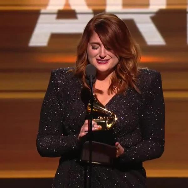 Meghan Trainor wins Best New Artist GRAMMY