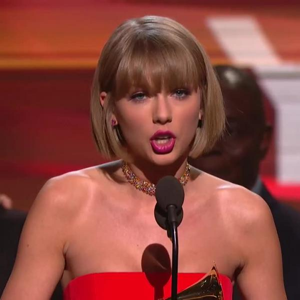 Taylor Swift wins Album Of The Year GRAMMY for '1989'