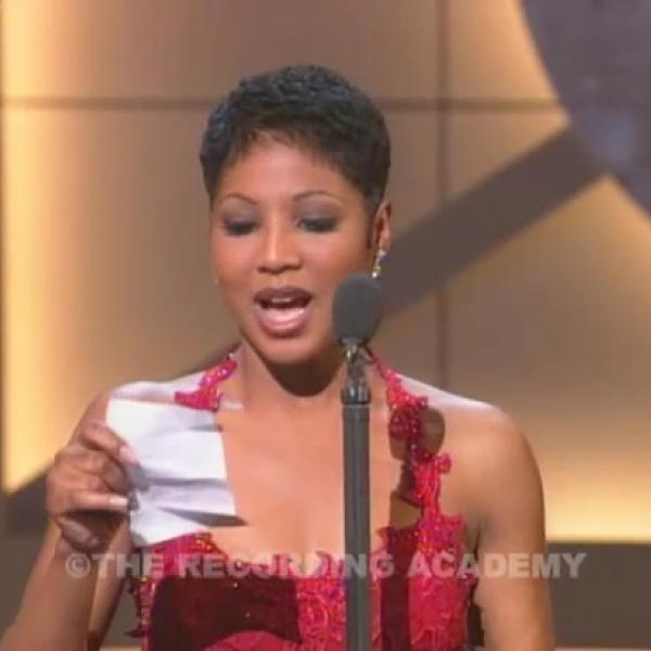 Toni Braxton Wins Best New Artist
