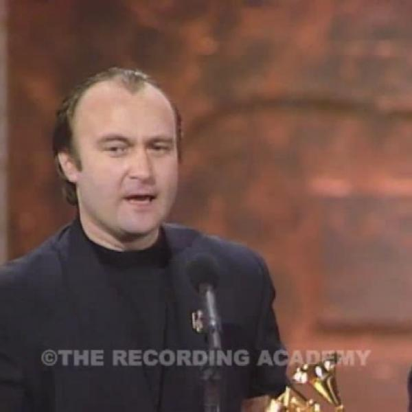 Phil Collins Wins Record Of The Year