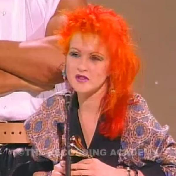 Cyndi Lauper Wins Best New Artist