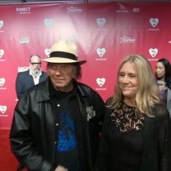 Neil Young At 2012 MusiCares Person Of The Year