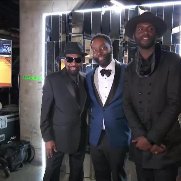 Gary Clark Jr. And William Bell: GRAMMY Backstage