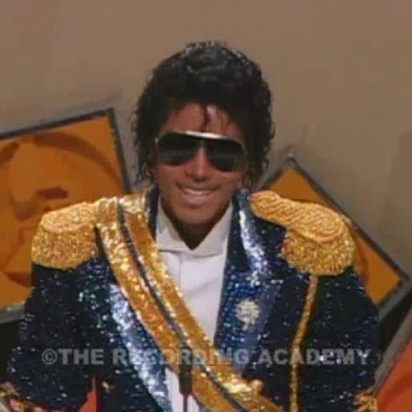 Michael Jackson Wins Best Pop Vocal Performance, Male