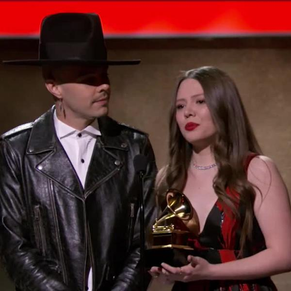 Jesse & Joy Win Best Latin Pop Album GRAMMY