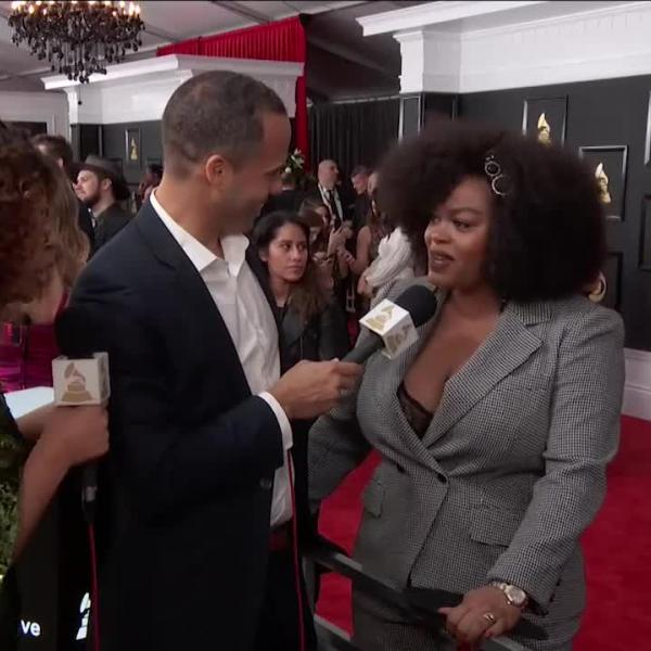 Jill Scott: GRAMMY Red Carpet Interview