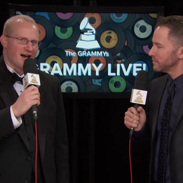 Keith Hancock: GRAMMY Backstage Interview