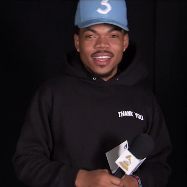 Chance The Rapper: GRAMMY Thank You Cam
