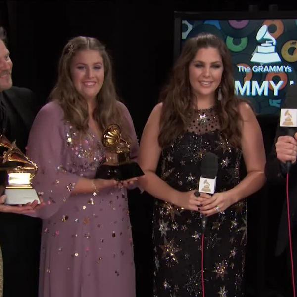 Hillary Scott & The Scott Family: GRAMMY Backstage Interview