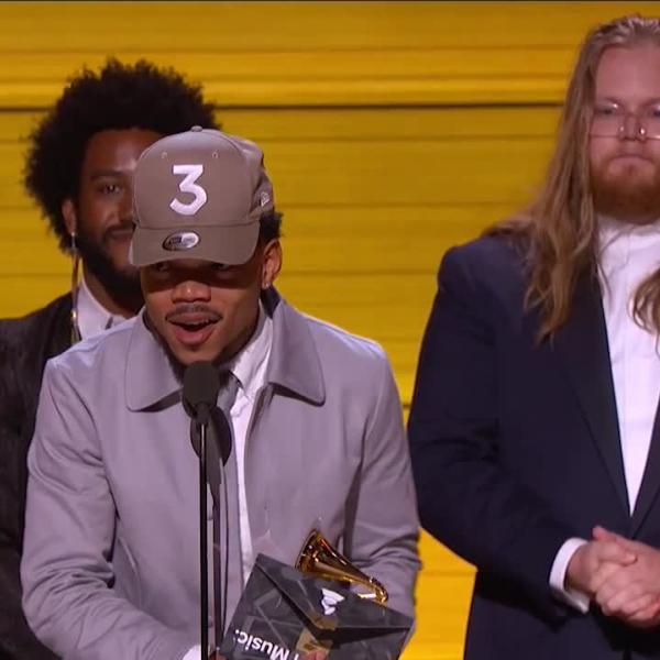 Chance The Rapper Wins 2017 Best New Artist GRAMMY