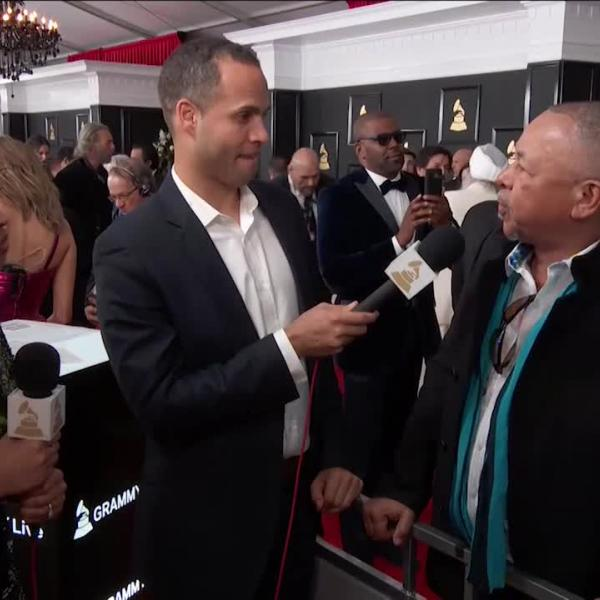 Ralph Johnson of Earth, Wind And Fire: GRAMMY Red Carpet Interview