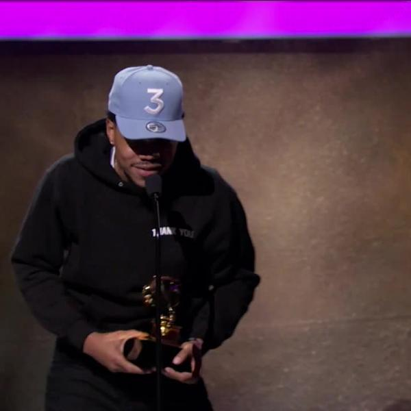Chance The Rapper wins Best Rap Performance: 'No Problem'
