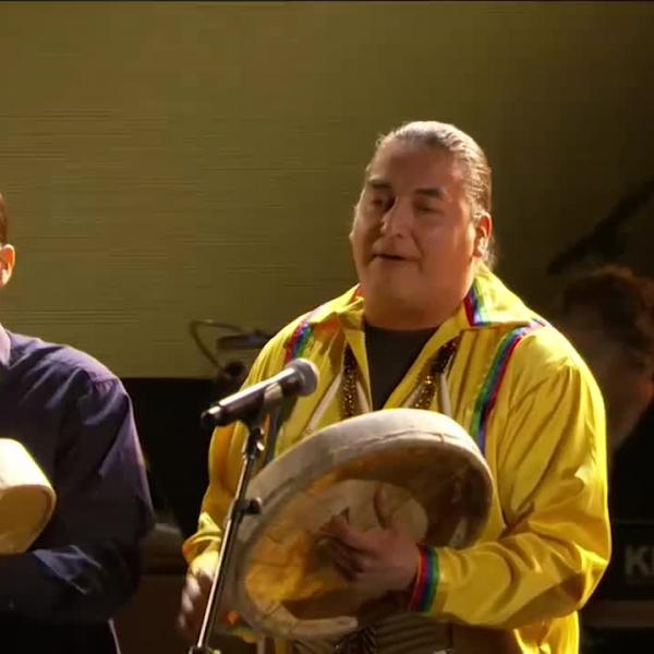 Northern Cree, Carla Morrison perform 'Cree Cuttin'
